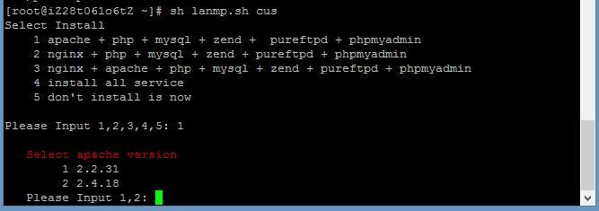 CentOS7.2 64位系统下安装WDCP实现LAMP环境安装drupal8多站点实操